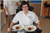 Une brestoise handicapée gagne le concours national &quot&#x3B;tout chocolat&quot&#x3B;