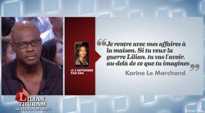 Lillian Thuram - Karine Lemarchand : l'amour est dans le prétoire
