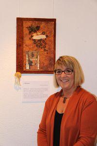 Vernissage expo patchwork à Vouvry