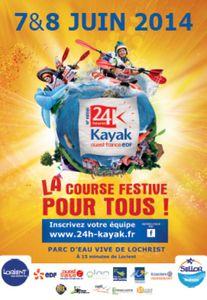 Les 24 heures Kayak Ouest France EDF, 3 jours de glisse et de fête !
