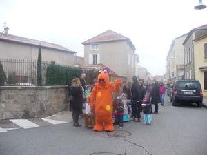 Carnaval blanc à Renaison