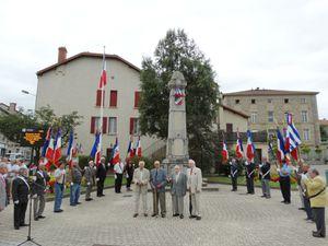 Commémoration 2015 du 10 août 1944