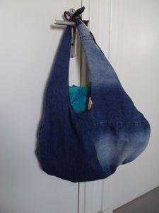 couture : sac, recyclage de jeans