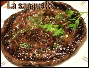 Cuisine Auvergnate:La Sanguette