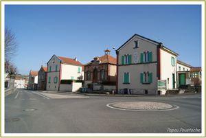 Les villages d'Auvergne: Vergongheon en Haute-Loire