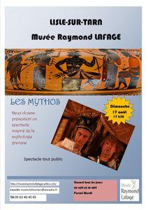 Vidéo du spectacle Les Mythos
