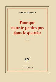 Le dernier roman de Patrick Modiano