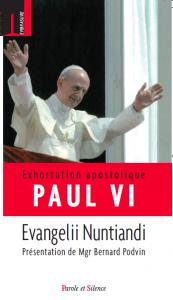 Relire « Evangelii Nuntiandi »
