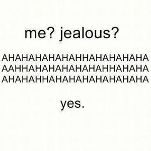 J is for Jealousy
