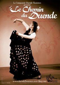 Duende Flamenco à Baume-les-Dames le 23 novembre 2014