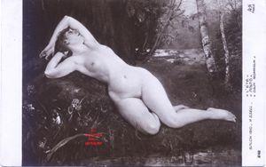 Iris -1961- Illustrateur GSELL Henry. L'été. Salon de 1910. France.