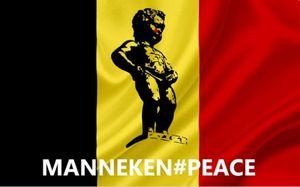 Le Manneken-Pis sur vos bombes