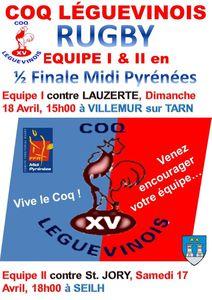 1/2 finale Midi Pyrénées