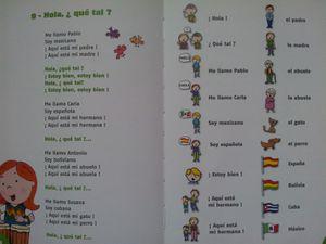 Chante et découvre l'espagnol. Livre-cd dès 4 ans