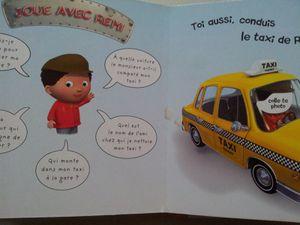 Le Taxi de Rémi. P'tit garçon. Dès 2 ans