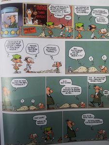 Titeuf VS Kid Paddle VS Petit Spirou