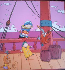 Pirateries. Frédéric MAUPOME et Stéphane SENEGAS. (Dès 4 ans)