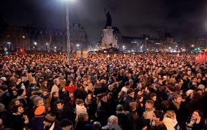 Place de la République à Paris.