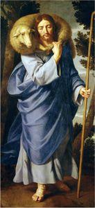 Jésus berger par Philippe de Champaigne