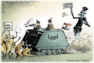 Une « convergence stratégique » entre l'Egypte et Israël (Monde diplomatique)