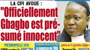 Pourquoi les «preuves» de Bensouda ont peu de chances d'accabler Gbagbo (Le Nouveau Courrier)