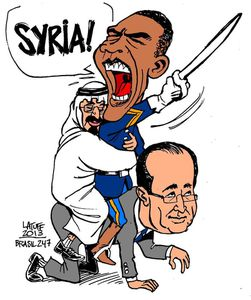 Hollande ou le nouveau caniche d'Obama