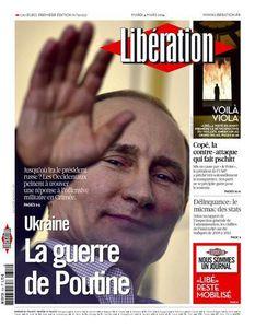 Libération : &quot&#x3B;Pour Poutine, des bandes « antisémites et extrémistes » rôdent encore à Kiev (LGS)