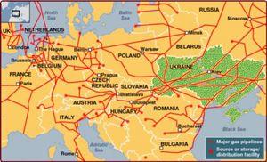 Ukraine : rivalité Russie / Etats-Unis pour aides financières ... et marché du gaz européen ? (Blog Finance)