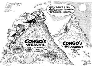 RDC. Six millions de morts à l'Est : 134 ONG exigent réparation auprès de la CPI  (Le Potentiel)
