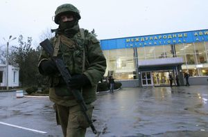Ukrainian Soldier 'Killed' as Troops Storm Simferopol Base (Reuters)