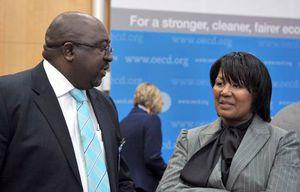 L'Afrique du Sud a un ministre des Finances noir pour la première fois (AFP)