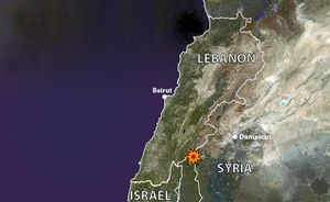 Plateau du Golan : Israël bombarde des positions militaires syriennes / Golan Heights: Israel Launched Air Strikes On Syrian Military Positions
