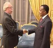 Le Patron de Total en négociations avec le dictateur Sassou NGuesso