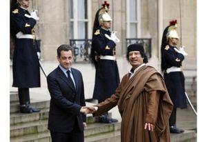 Le feuilleton Sarkozy-Kadhafi (BdA)