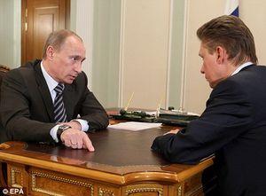 Vladimir Poutine et Alexei Miller