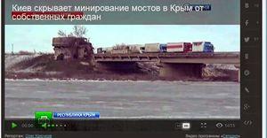 L'Ukraine truffe d'explosifs les ponts vers la Crimée (Fortruss)