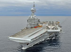 Le porte-avions français Charles de Gaulle sous commandement US (Sputniknews)