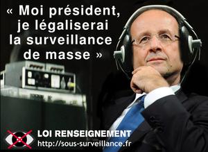 Loi Renseignement : L'Europe déjuge le gouvernement français (RT)