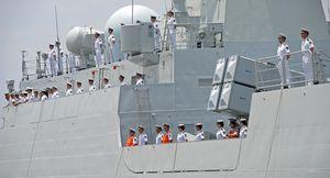Deux frégates chinoises entrent en mer Noire (Sputniknews)
