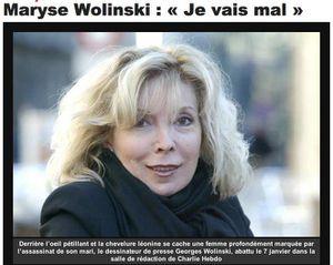 La veuve de Wolinski met en doute la version officielle des attentats de Charlie Hebdo et demande des éclaircissements dans &quot&#x3B;Le Dauphiné&quot&#x3B;