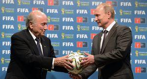 Poutine: les USA cherchent à empêcher la réélection de Blatter à la FIFA (Sputniknews)