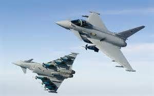 Des avions de chasse britanniques interceptent des avions militaires russes au-dessus de la mer Baltique