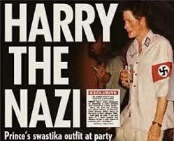 1937. Où l'on retrouve des photos du roi d'Angleterre faisant le salut nazi.