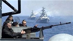 Manoeuvres balistiques russes près de Tartous. Démonstration de force russe dans les eaux occidentales de la Syrie (Irib)