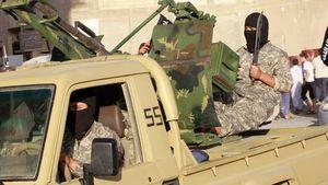 Exclusif : l'armée irakienne a saisi des équipements militaires US aux terroristes de l'Etat islamique à Beiji