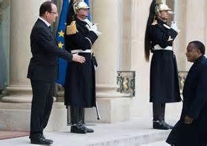 Le dictateur Sassou Nguesso franchit le pas, François Hollande aux abonnés absents