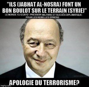 Syrie: Honte à Hollande, à Fabius et aux médias français  (PRCF)