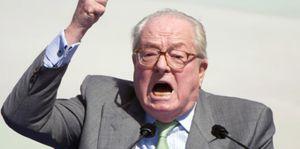 &quot&#x3B;La décapitation pour les terroristes&quot&#x3B;, propose Jean-Marie Le Pen (AFP)