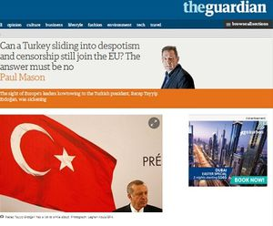 The Guardian: il est écœurant de voir l'UE s'incliner devant Erdogan (Sputniknews)