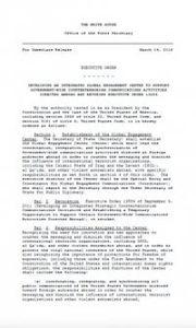 Obama créé un nouveau dispositif de manipulation de l'information (Voltaire.net)
